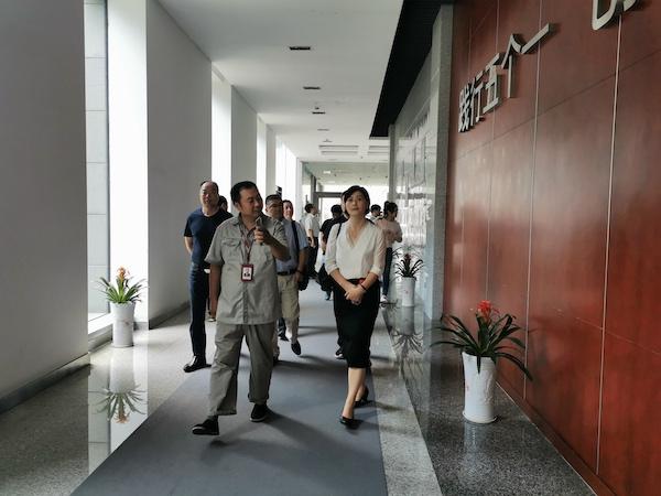 第二十一期會員互訪活動走進甯波方太廚具